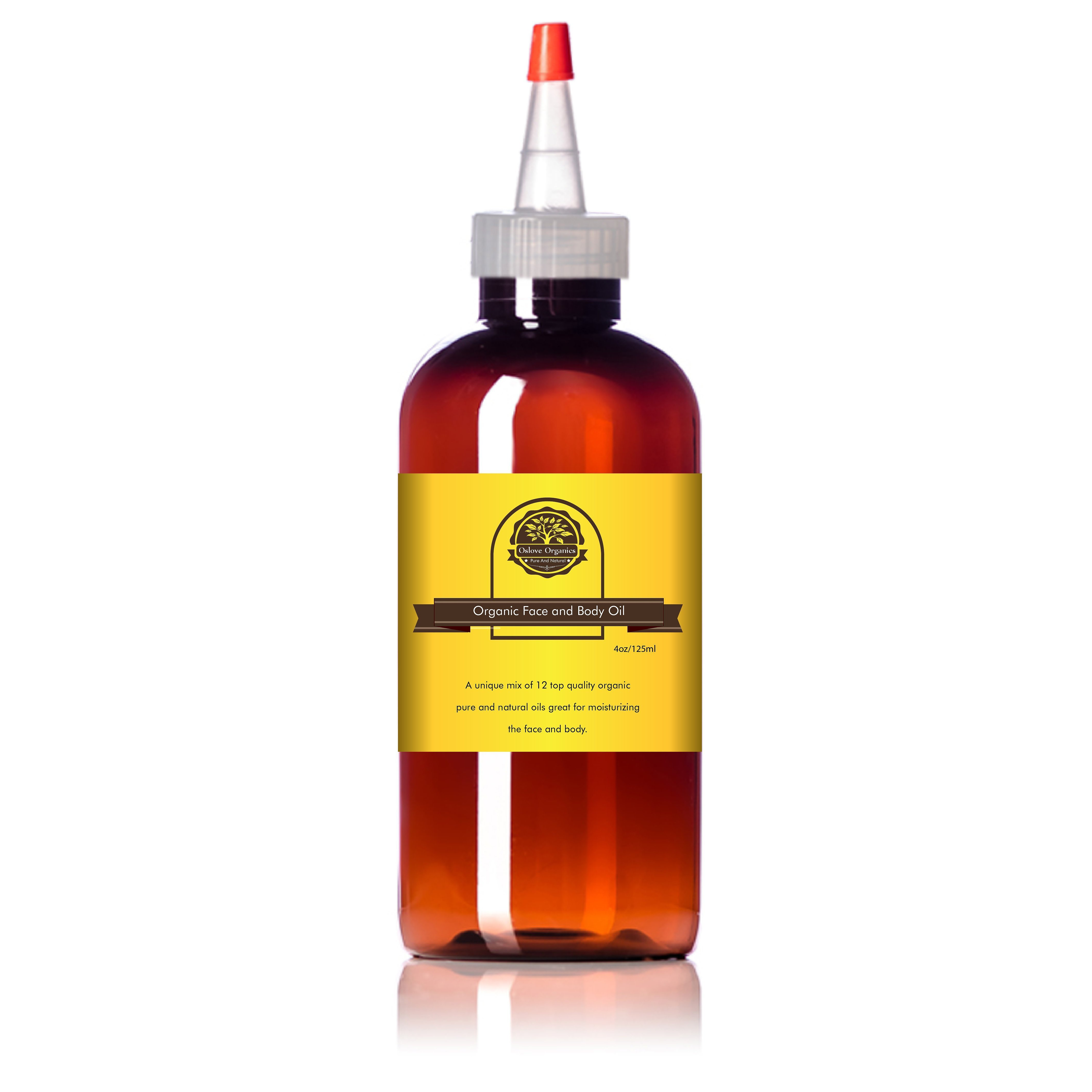 Organic face and body oil