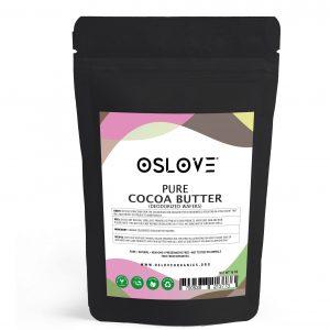 Deodorized cocoa butter