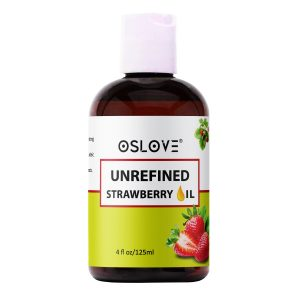 Unrefined strawberry oil