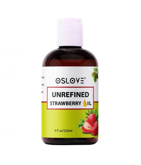 Unrefined strawberry oil